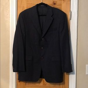 RALPH Ralph Lauren Navy Wool Sport Coat